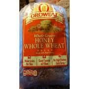 arnold bread honey whole wheat nutrition