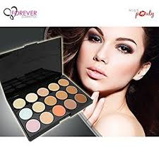 mac 15 shades contour concealer palette with beauty blender at low s in india amazon in