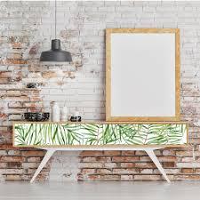 Groene Bladeren Peel Stick Vinyl Waterdichte Decoratieve 3d Diy