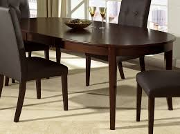 black oval kitchen table