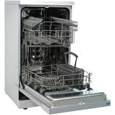 Small Dish Washer Delonghi Dedw45s 45cm Stainless Steel Freestanding Dishwasher At