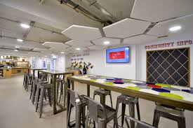 office coffee bar furniture. opus 4 completes exciting new coffee shop fit out in leeds andrew jackson pulse linkedin office bar furniture
