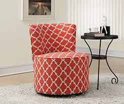 coral accent chair. Perfect Accent Monarch Specialties Coral U0026quotInchanternu0026quot Fabric Accent Chair With  Swivel  And A