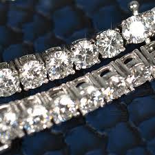 VVS Moissanite Tennis Chain or Bracelet – JewelryFresh