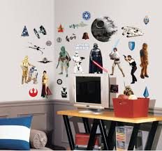 31 classic star wars decals view larger  on star wars wall art stickers with roommates rmk1586scs star wars classic peel and stick wall decals