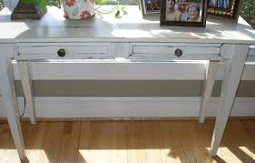 white entrance table. White Entrance Table For New Ideas Desk Entry Distressed Shabby By RusticFurnishings O