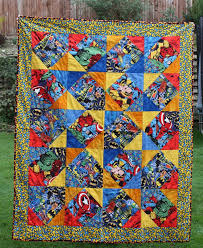 10 best Caleb's Quilt images on Pinterest | Appliques, Baby boy ... & Superhero Quilt by Sewhappy Adamdwight.com