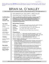 Information Security Resume 15 Techtrontechnologies Com