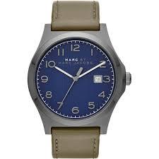 marc jacobs men s mbm5046 jimmy watch francis gaye jewellers marc jacobs men s navy blue dial leather strap jimmy designer watch mbm5046