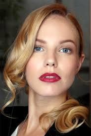 101 party makeup ideas 2016 red lips soft shimmery shadow holiday makeup