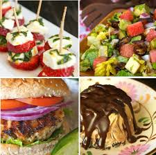Party Menu Sensational Summer Dinner Party Menu Cooking On The Weekends
