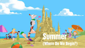 Image result for image of phineas and ferb in summer