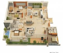 stylish modern house floor plans free free contemporary house plan