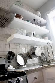 bigger stronger kitchen floating shelves