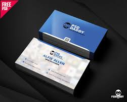 business card free psd new