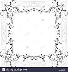 vintage black frame. Vintage Black Square Frame With Grey Border Decor And Empty Place For Your Text Or Other Design, Vector Illustration Greeting Card. L