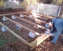 How to build a deck video Deck Railing Building Freestanding Deck With Deck Blocks Home Townofresacacom How To Build Deck In Weekend Parr Lumber Richards Building