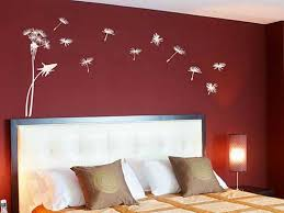 ... Redoubtable Wall Paint Design Red Bedroom Wall Painting Design Ideas ...