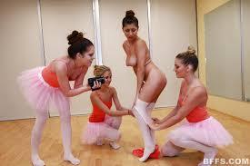Sexy slut Danielle wearing tights short skirt licks pussy at.