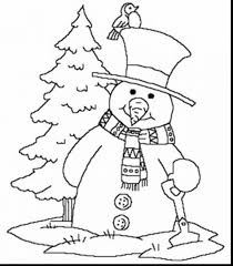 impressive printable winter coloring pages for kids with free ...