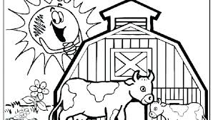 Farm Printable Coloring Pages Life Free Colouring For Old Macdonald