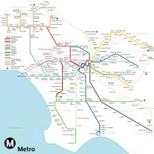the most optimistic possible la metro rail map of   curbed la