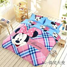 minnie mouse sheet set mouse bedding sets twin queen king size minnie mouse sheet set