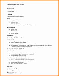 Secretary Resume Sample 100 Inspirational Gallery Of Resume format for Secretary Resume 53