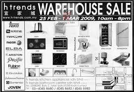 Warehouse Kitchen Appliances 25 Feb 1 Mar H Trends Warehouse Sale Shoppingnsales