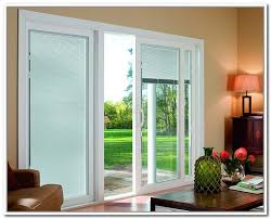 ... Blinds For Exterior Sliding Glass Doors With For Popular Sliding Glass  Doors With ...