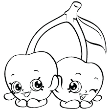 Kid Coloring Pages Shopkins Apple Blossom Coloring Page Coloring