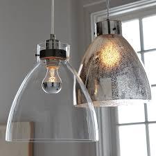 industrial pendant glass west elm within mercury lights plan 6