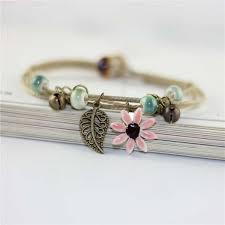 1PCS <b>New Fashion</b> Adjustable Simple Ceramic Bracelets Anklets ...