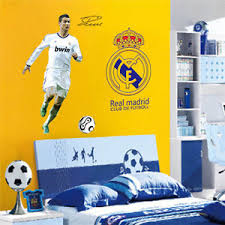 High Quality Image Is Loading Wall Decor C Ronaldo Real Madrid Football Boy
