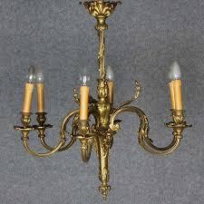 Antike Wandlampe Kronleuchter Korblüster Lüster