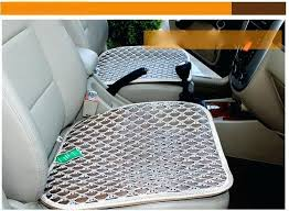 cooling office chair. Office Chair Cooling Pad Summer Ice Silk Seat Cushion Cover Breathable Mat For Car N