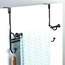 shower door towel bars rack over the bar bracket replacement chrome brackets only 2 unique