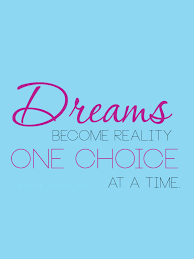Dreams Become Reality Quote Best Of One Choice