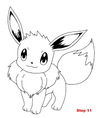 Small Picture eevee coloring pages Just Colorings