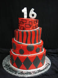 6 Boys 16th Birthday Cakes For 14 Years Old Photo 16 Birthday Cake