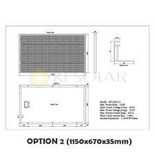 Solar Panel Circuit Design Monocrystalline Solar Panel 125w Kf Solar Tech Group Corp