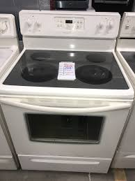 exellent stove frigidaire black electric glass top 259 10398