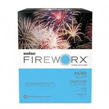 Boise Fireworx Color Copy Laser Paper 24 Lb Letter Size
