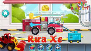 Sơn Rủa Xe Máy Kéo, Xe Cứu Hỏa, Xe Cảnh sát - Game rửa xe cho bé | Xe cứu  hỏa, Máy kéo, Xe máy