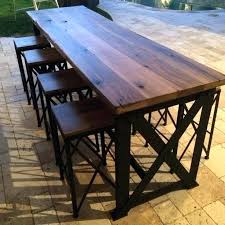 pub table with 4 chairs premium bar table for 4 com iron loft high bar pub table with 4 chairs