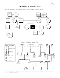 Family Tree Example Template Medical Family Tree Sample Templates At