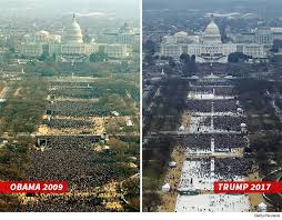 trump inauguration crowd size fox donald trump claims medias lying about inauguration crowd numbers