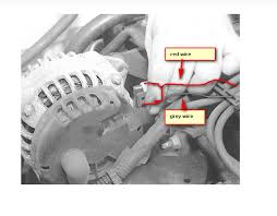 99 chevy cavalier alternator pulled out,red wire and grey wire ripped Chevy Alternator Wiring Diagram Chevy Alternator Wiring Diagram #66 chevy 350 alternator wiring diagram
