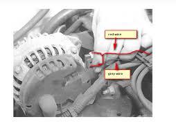 2000 chevy cavalier alternator wiring wiring diagram mega changed alternator in 99 chevy cavalier plug at back of alternator 2000 chevy cavalier alternator wiring