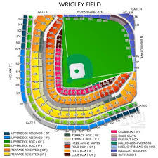 Wrigley Field Seating Chart Prices Wrigley Field Cubs Tickets New York Yankees Tickets